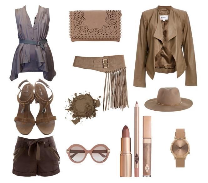 Серо-коричневый:модные цвета весна лето 2016