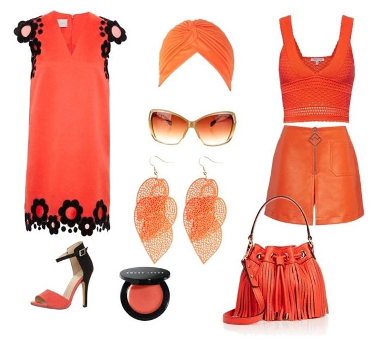Модные цвета весна-лето 2016 персиковый