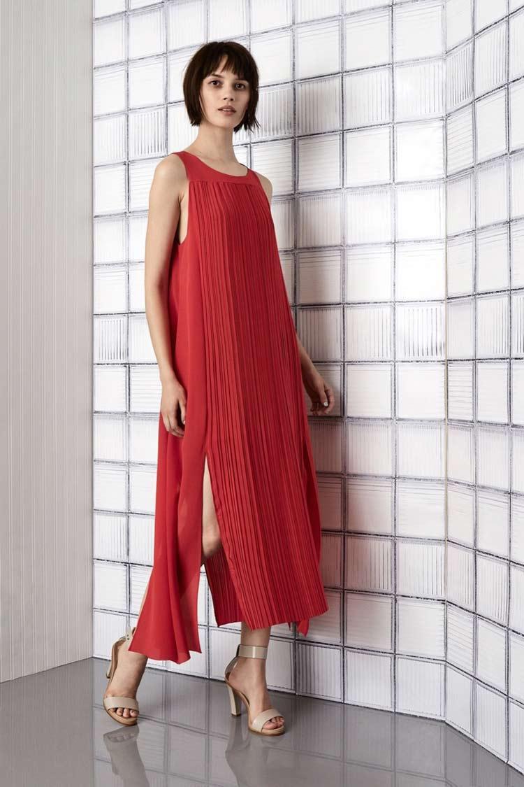 Модный сарафан длинны миди для лета 2018