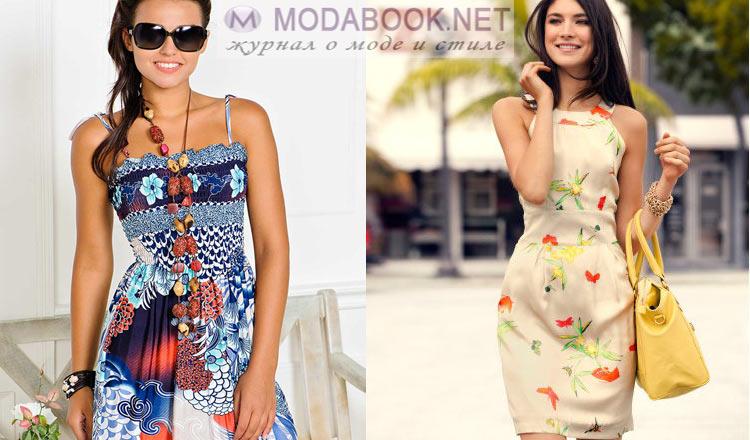 летние платья и сарафаны 2016