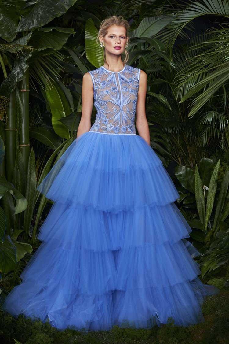 Лавандовое выпускное платье 2016