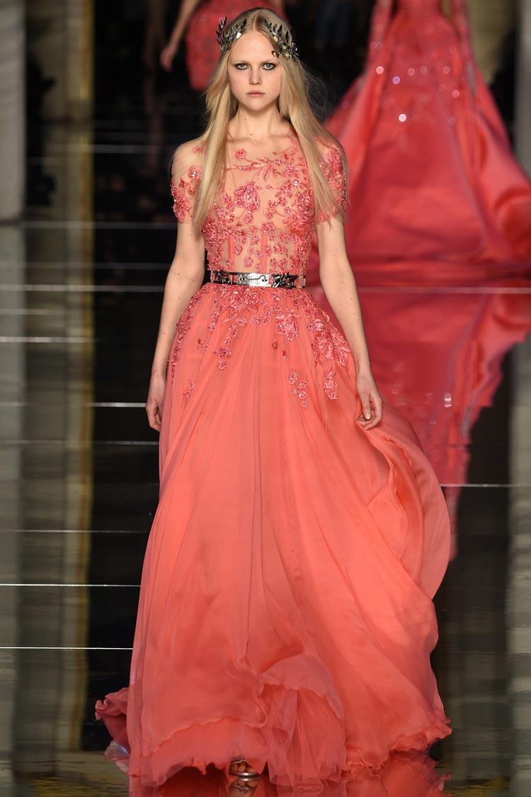 Красное выпускное платье 2016