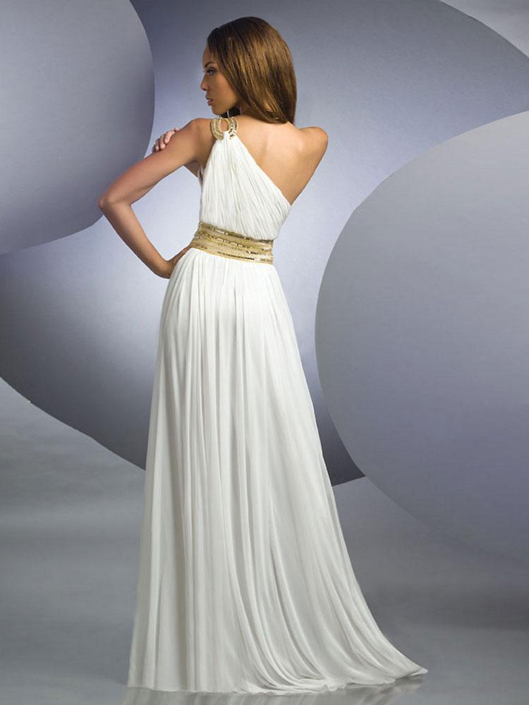 Асимметричное выпускное  платье 2016