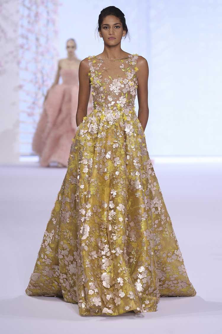 Декорированное выпускное платье 2016
