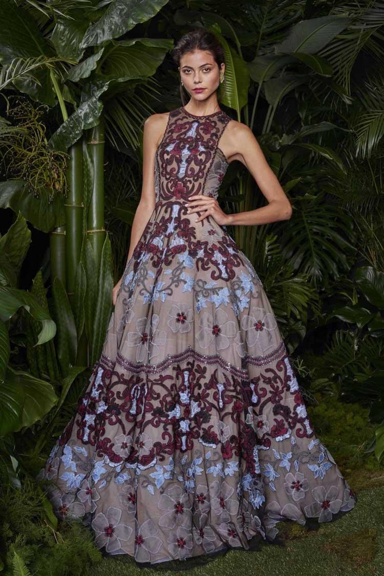Красивое выпускное платье 2016