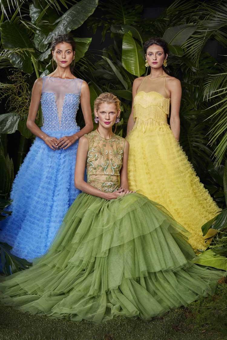 Яркие выпускные платья 2016