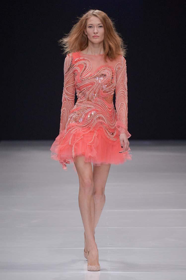 Платье кружевной верх розовый низ живота