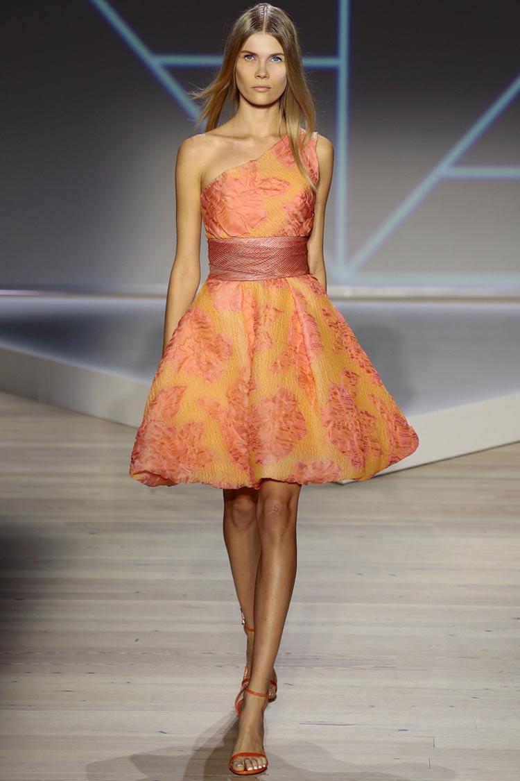 Выпускное платье-цветок 2016