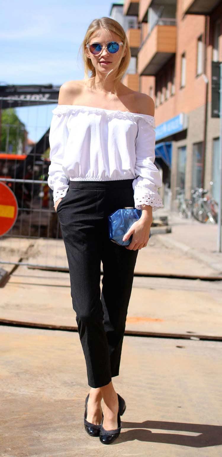 Модная блуза весна-лето 2016