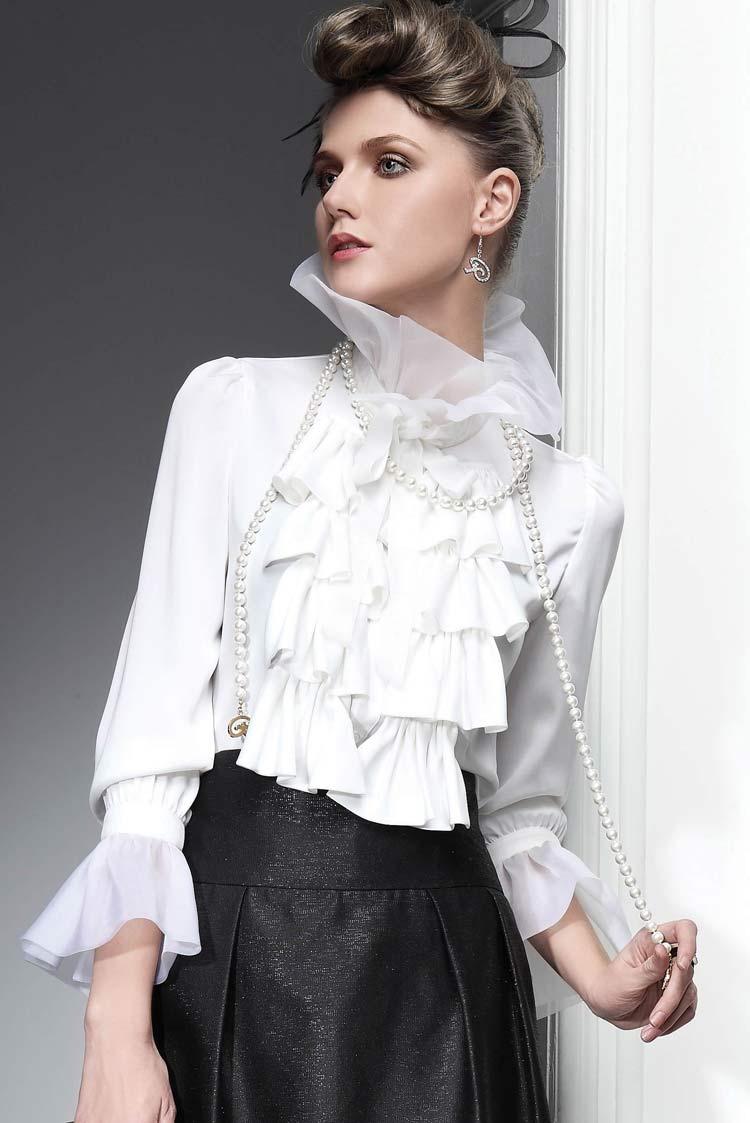 Модная блузка весна лето 2016