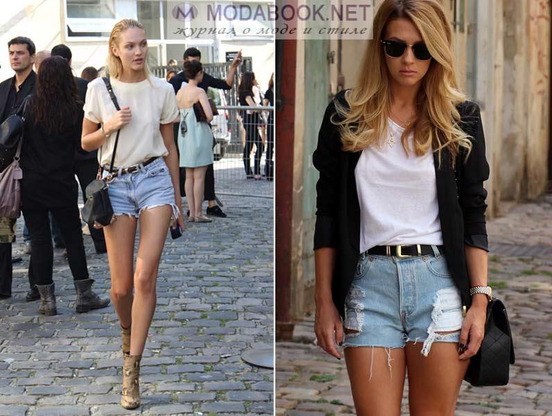 Модные джинсовые шорты лето 2016