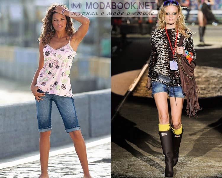 Стильные джинсовые шорты лето 2016