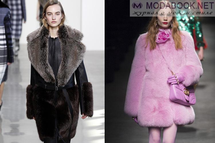 Мода осень-зима 2018-2019 мех