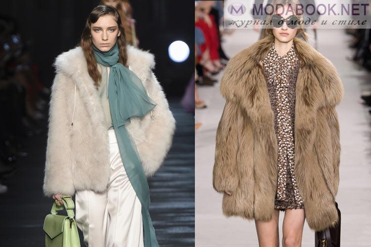 Мода осень-зима 2018-2019 шубы