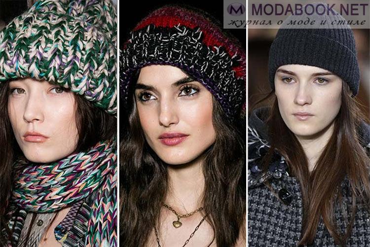 Мода осень-зима 2016-2017 шапки