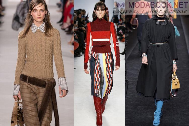 Мода осень-зима 2018-2019 ретро стиль