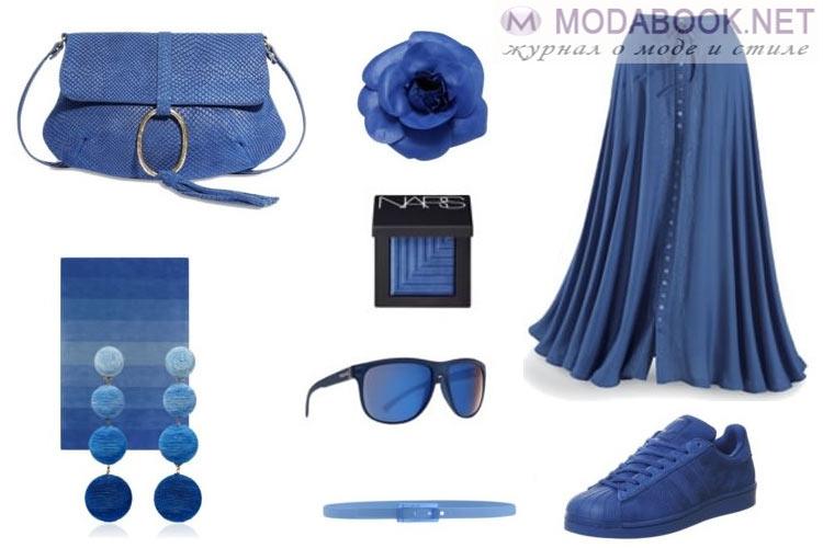 Модные цвета осень-зима 2016-2017  синий (Riverside)