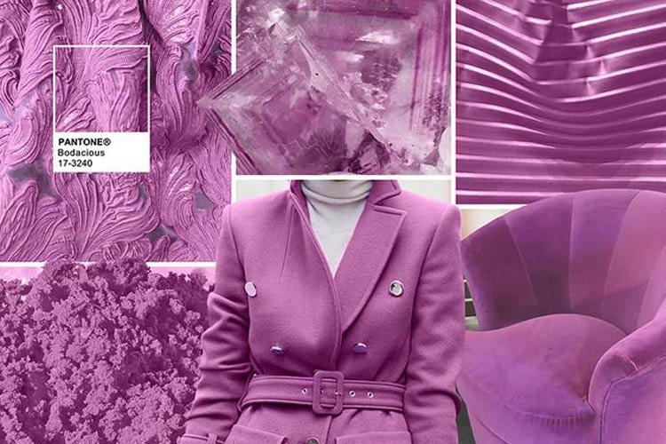 Модные цвета осень-зима 2016-2017 пурпурно-розовый (Bodacious)