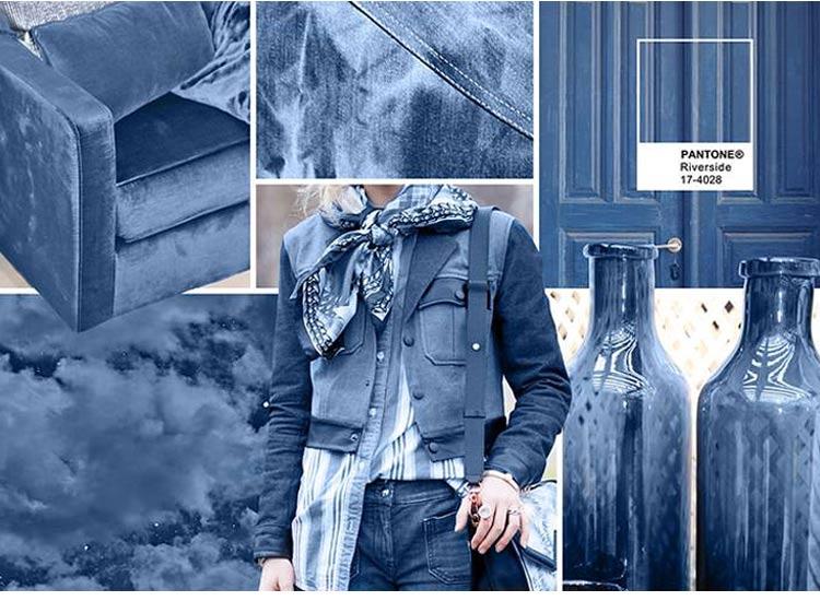 Прохладный синий (Riverside). Возглавил модную палитру прохладный оттенок  синего цвета. ed709076de2