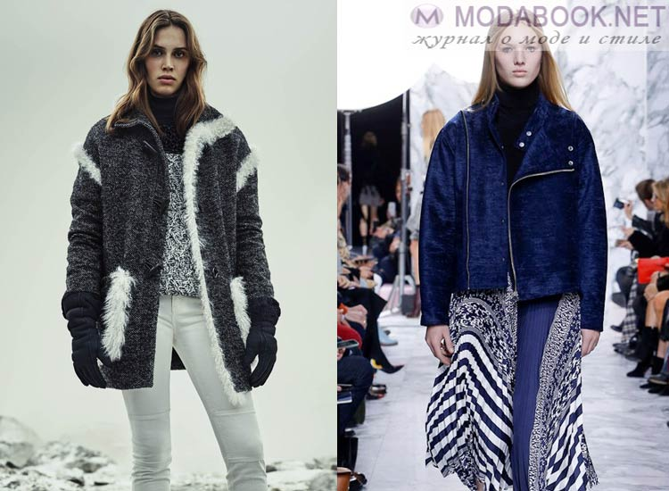 Модные женские куртки осень-зима 2016-2017