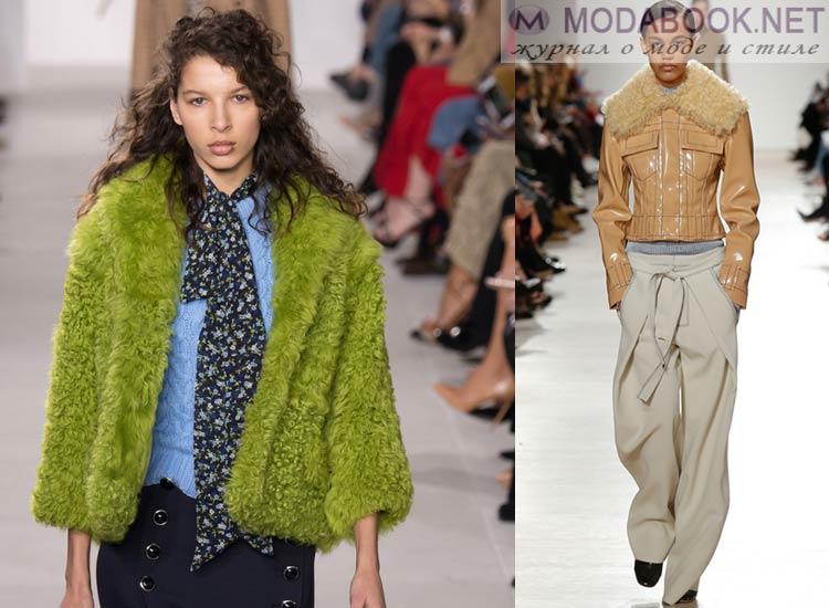 Цветовая палитра курток осень зима 2018 2018