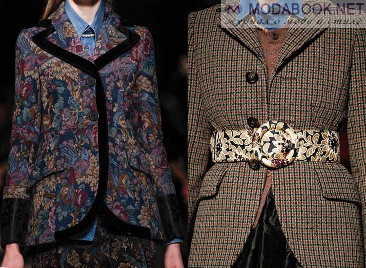 Куртки-пиджаки осень-зима 2017-2018