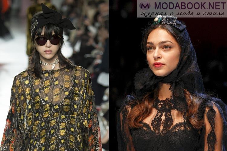 Что будет модно осенью зимой 2016-2017: платок