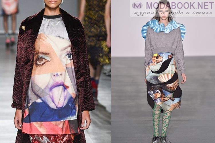 Что будет модно осенью зимой 2016-2017: фотопринт