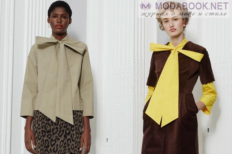 Что будет модно осенью зимой 2016-2017: бант