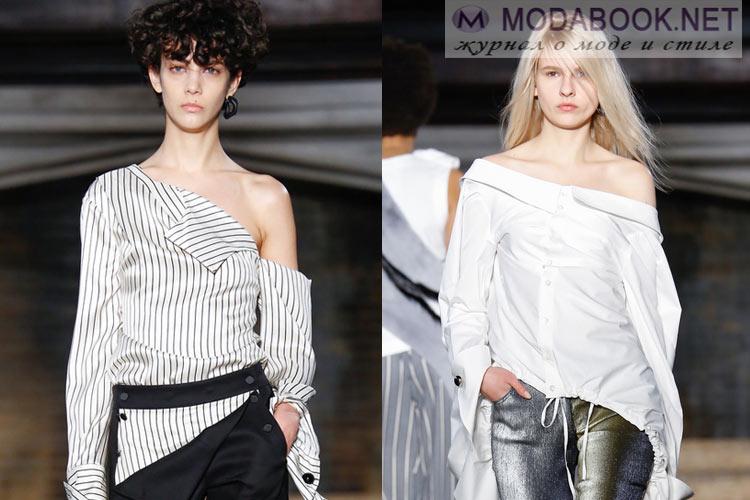 Что будет модно осенью зимой 2016-2017: обнаженные плечи