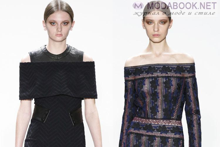 Что будет модно осенью зимой 2016-2017: голые плечи