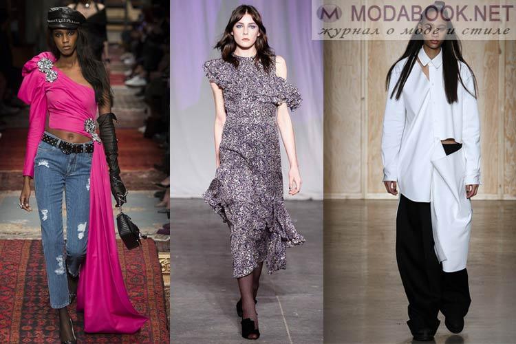 Что будет модно осенью зимой 2016-2017: асимметрия