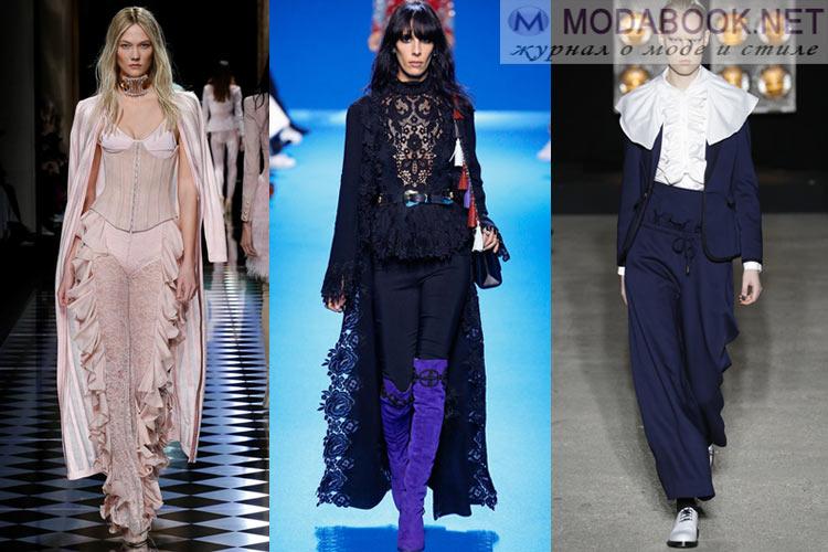 Что будет модно осенью зимой 2016-2017: историческая одежда