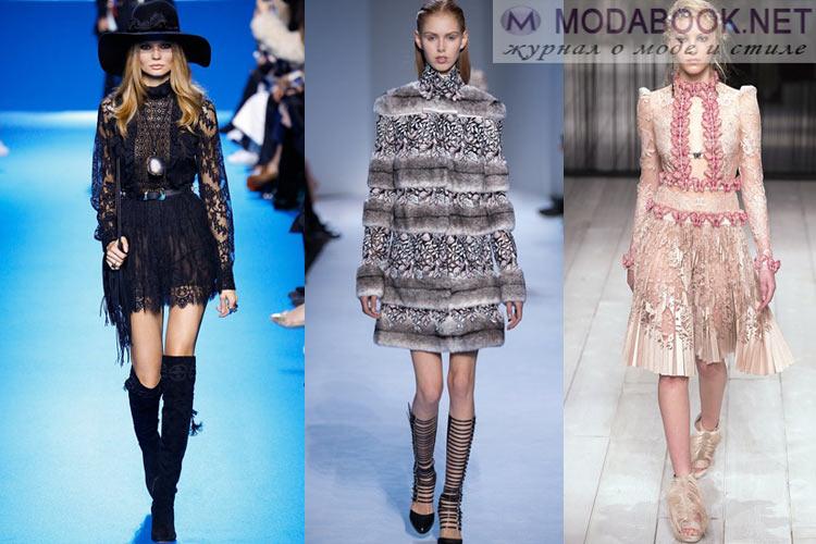 Что будет модно осенью зимой 2016-2017:отголоски истории