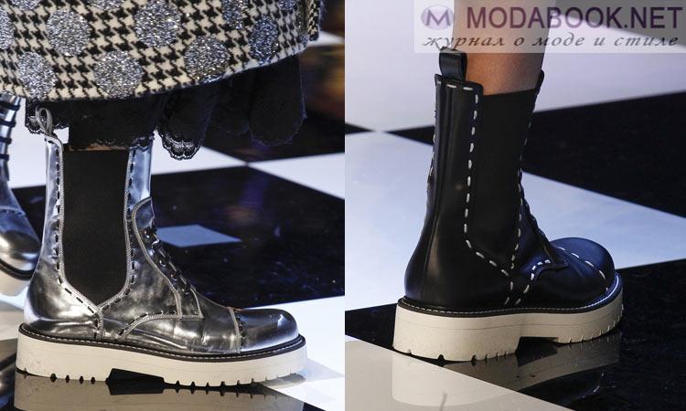 Модная обувь осень-зима 2016-2017: на массивной подошве