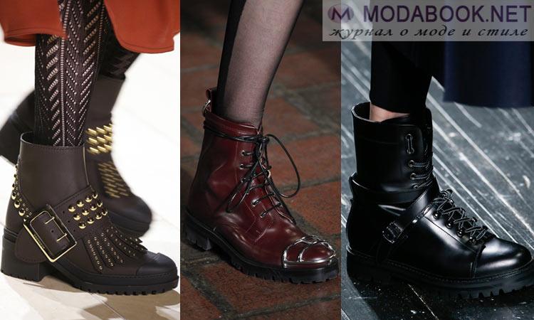 Модная обувь осень-зима 2016-2017: в мужском стиле