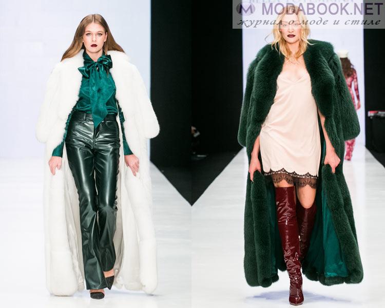 3de9e8afb88 Верхняя одежда сезона осень-зима 2018-2019 характеризуется не только  красотой