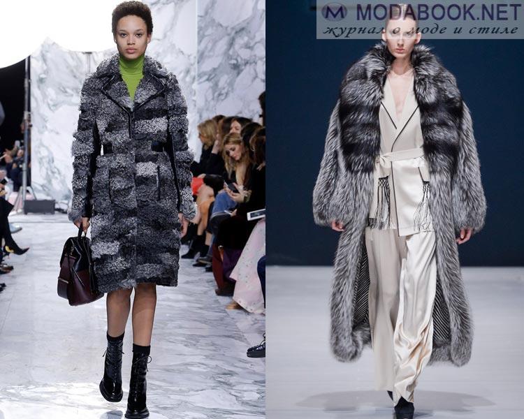 eab5dc9fdd7 Модная верхняя одежда осень-зима 2018-2019  фото актуальных моделей