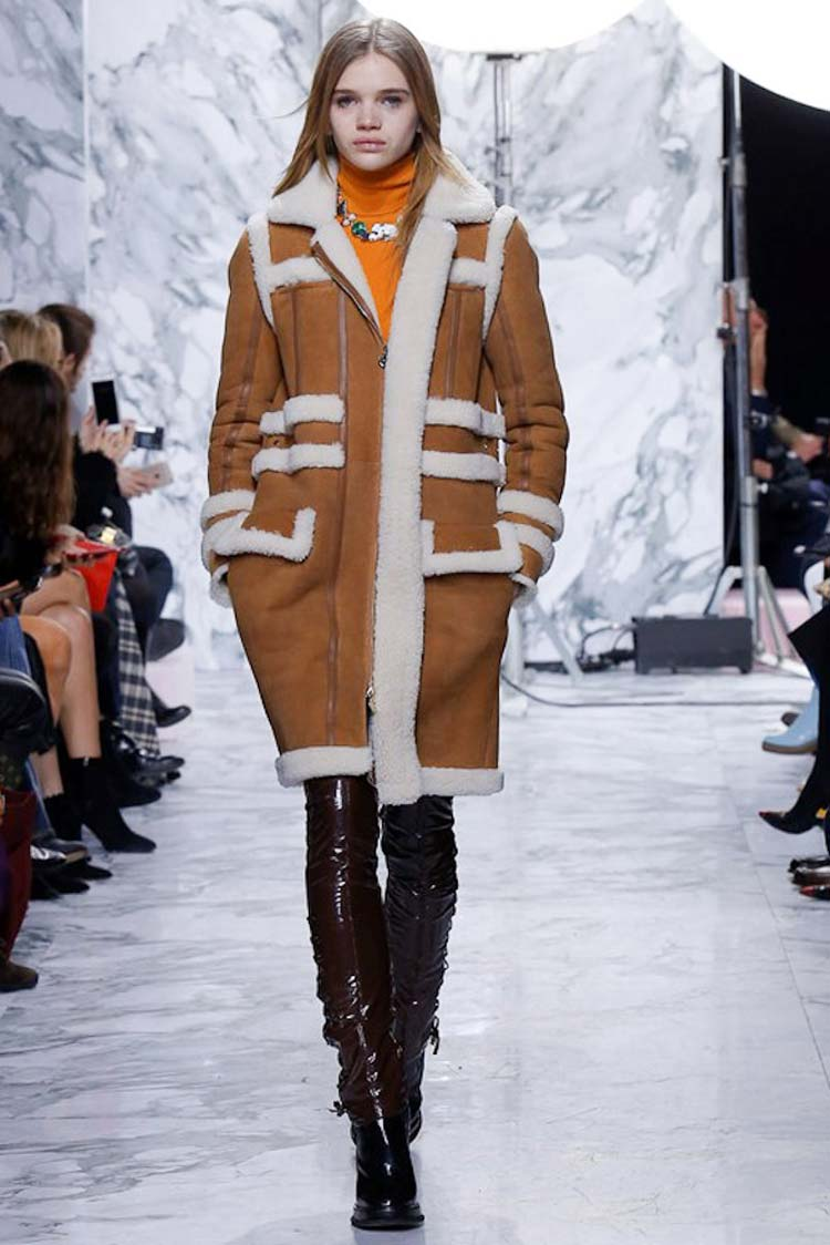 Зимняя мода фото верхняя