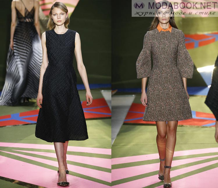 9fad37849eb Модные платья осень - зима 2018-2019  фото моделей
