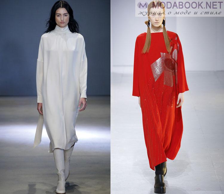 теплые платья 2016 фото новинки