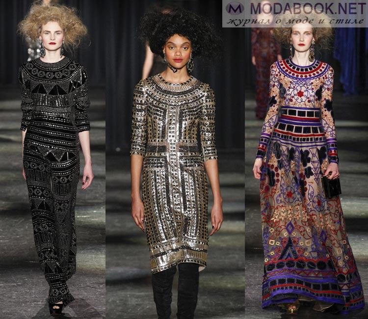 Модные платья осень - зима 2016 - 2017
