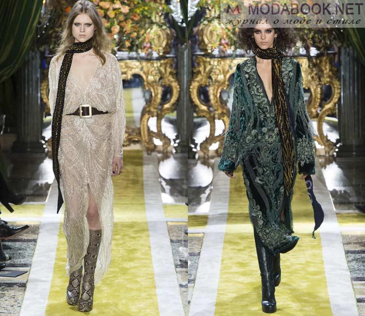 Модные платья осень - зима 2016 - 2017: коктейльные платья
