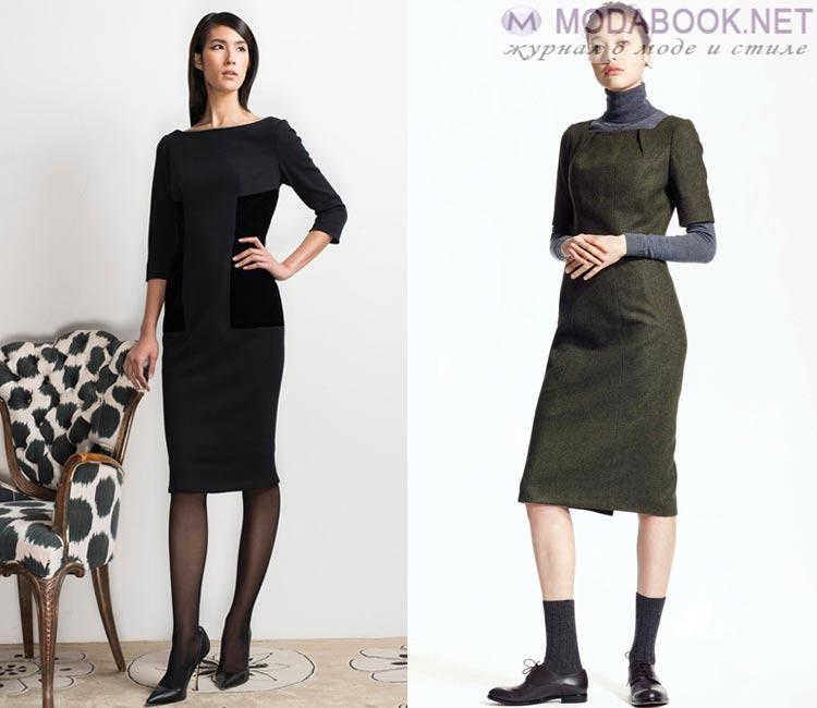 Модные платья осень - зима 2016 - 2017: офисные