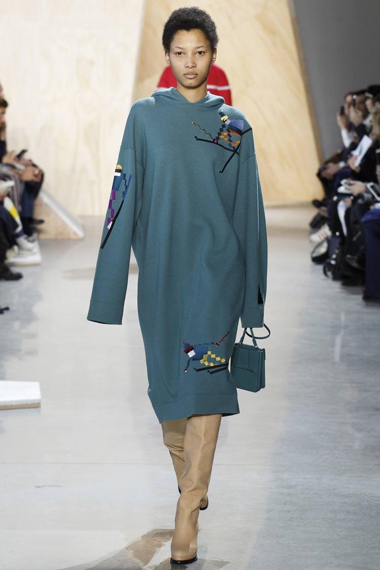 Модные платья осень - зима 2016 - 2017: свободные платья