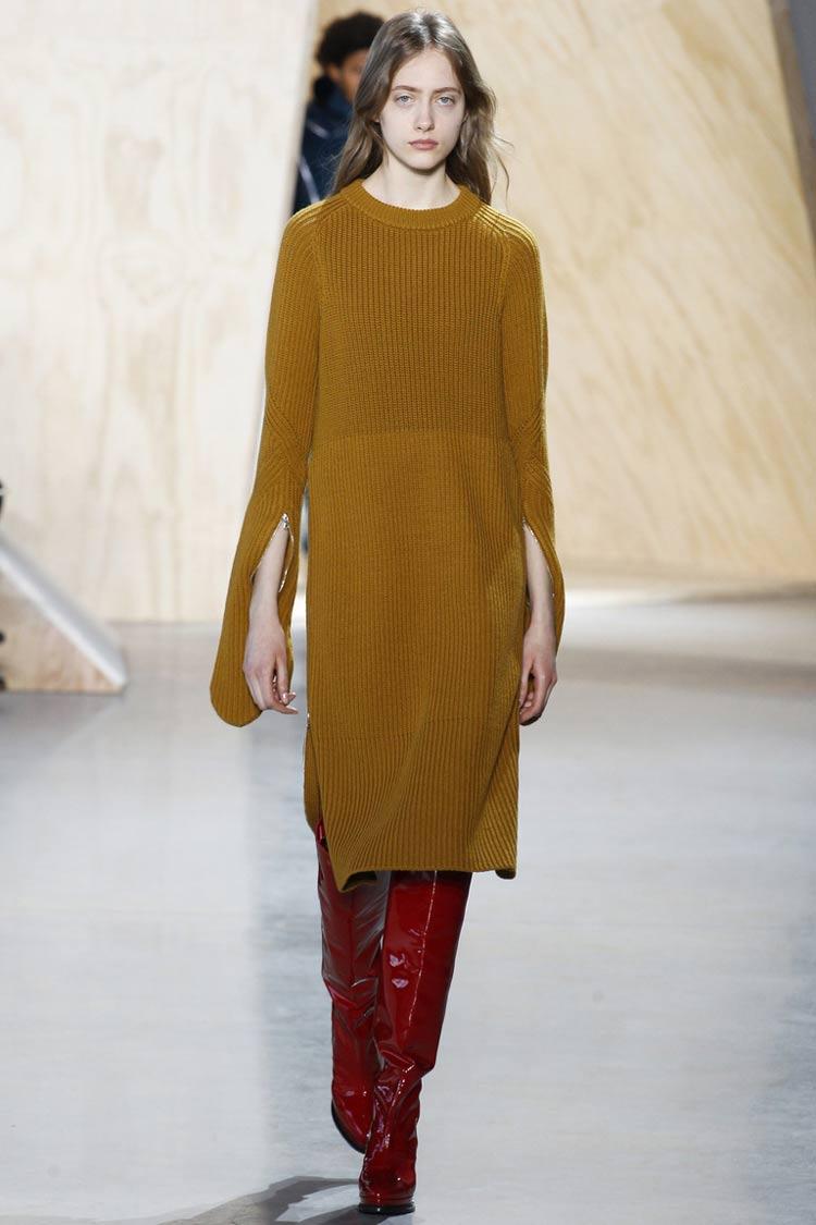 Модные платья осень - зима 2016 - 2017: как свитер