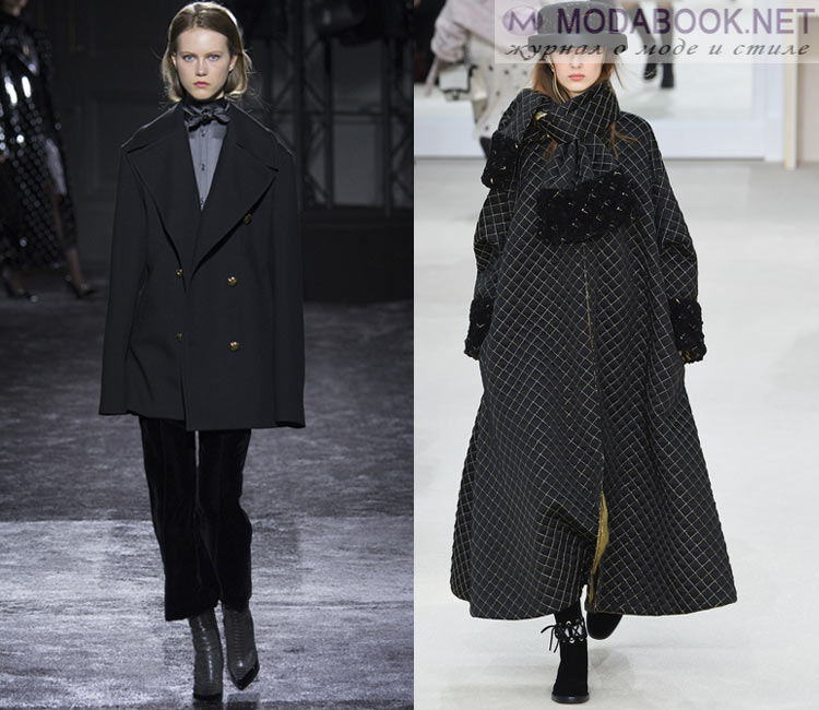Модные женские пальто осень-зима 2016-2017: стиль оверсайз