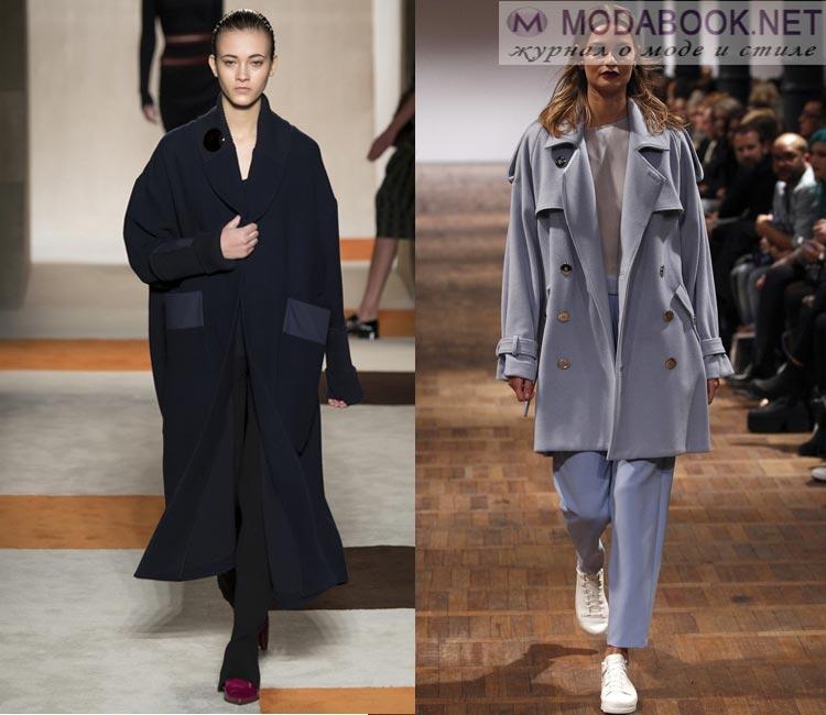 Модные женские пальто осень-зима 2016-2017: приглушенные цвета