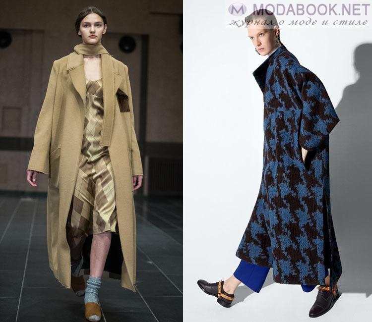 Модные женские пальто осень-зима 2016-2017:  максимализм