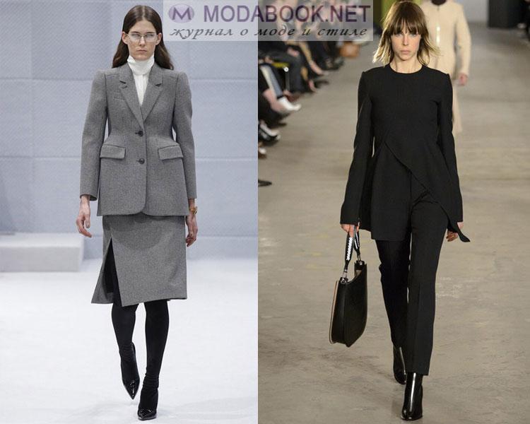 Офисная мода осень-зима 2016-2017:с чем одеть
